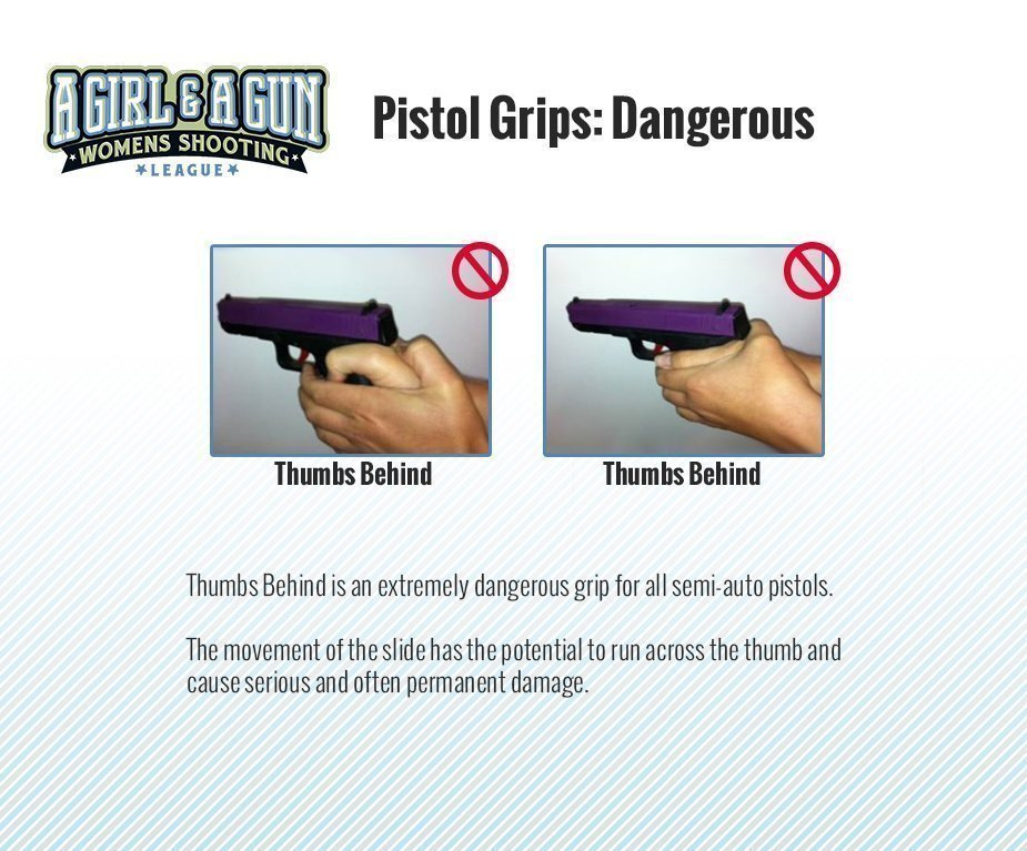 Proper Pistol Grips ⋆ A Girl and A Gun