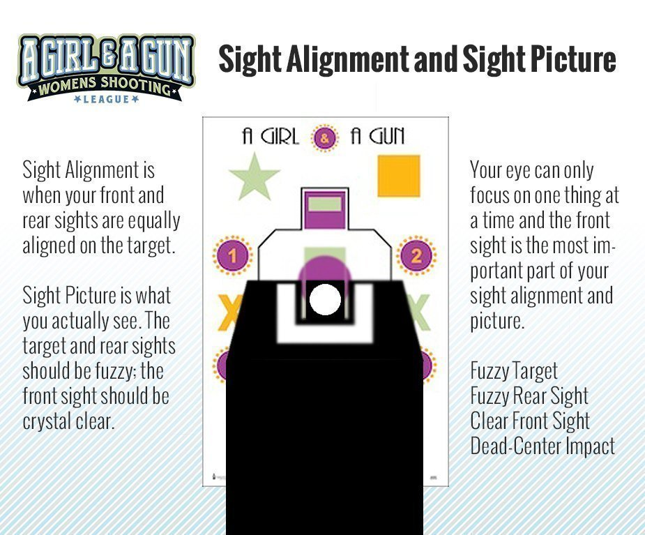 Pistol Sight Picture and Alignment