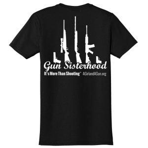 Gun Sisterhood Shirt Back