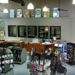 Retail space, training area, and indoor range all in one location.