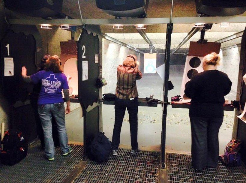 Range ⋆ A Girl and A Gun