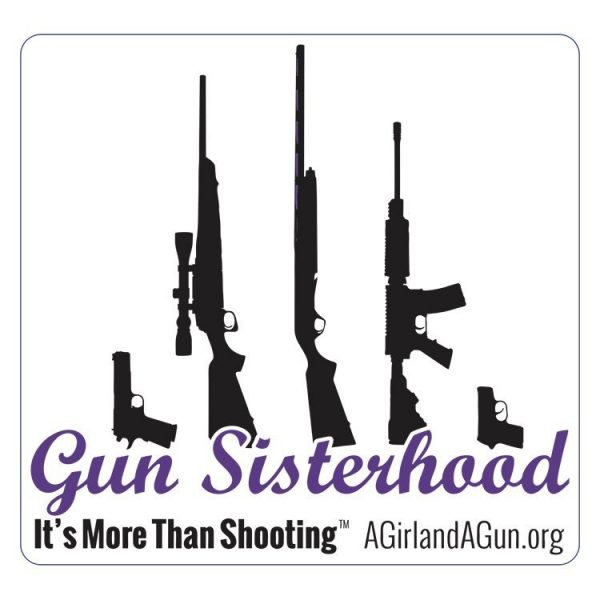 Gun Sisterhood Sticker