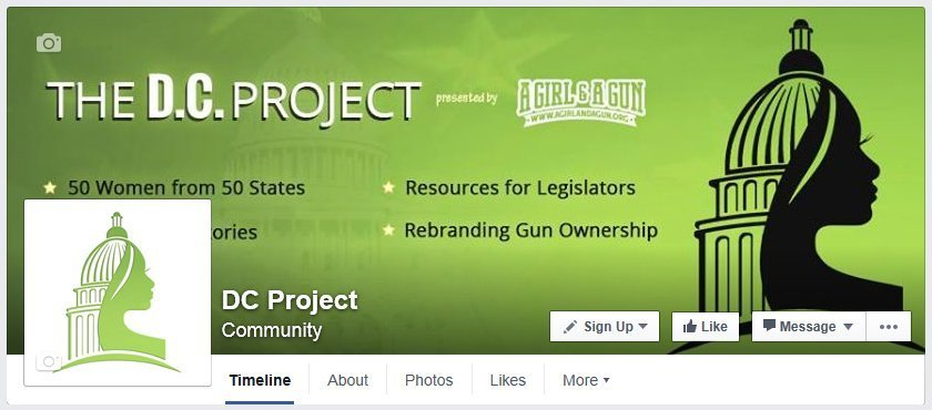 Like DC Project on Facebook