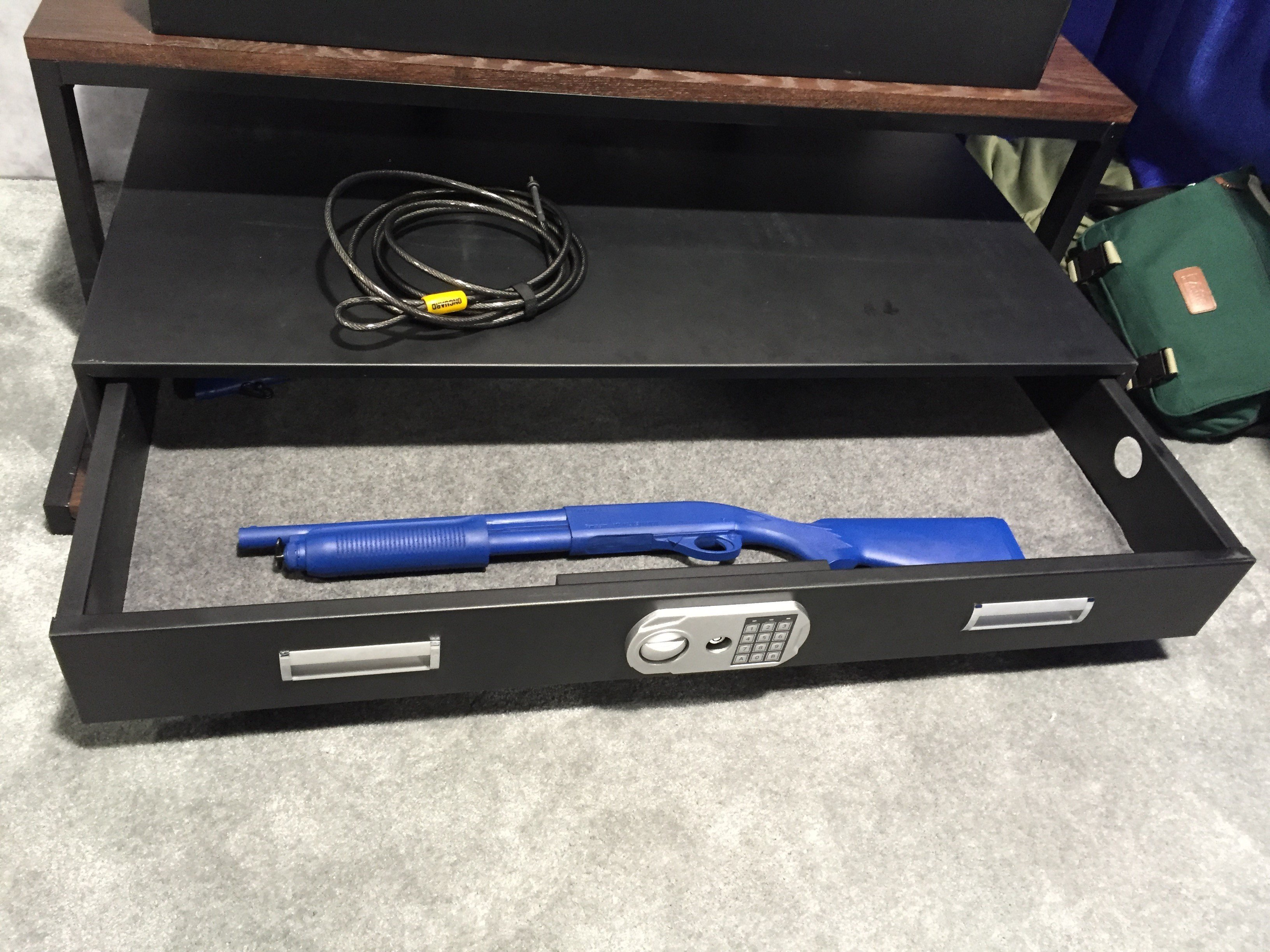 Under bed gun safe biometric - If You Are A Woman Looking To Get Into Self Defense And The Shooting Sports Worries About Safe Storage Should Not Be The Thing That Stops You