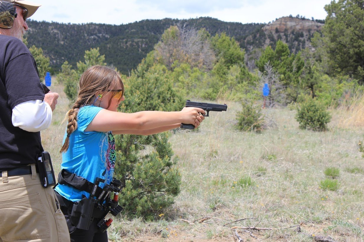 youth member gracie shaw wins scholarship to 2a 3 gun junior camp
