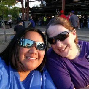 Sandra and Jessica