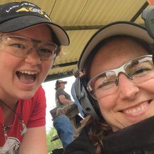 Jenna Jones, 13, with her mom Ronda