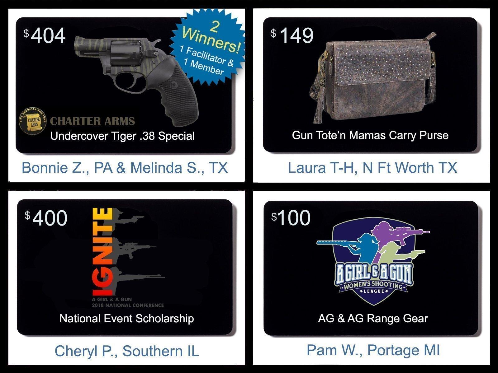 Firearm giveaways